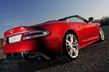 New Aston Martin Convertible DBS Volante