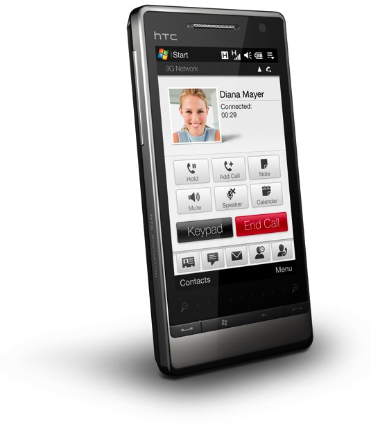 The new HTC Touch Diamond2
