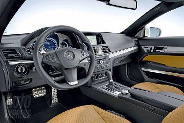 The E-Class Coupe Interior