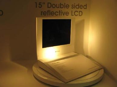 LG Double Sided Display