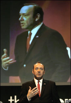 Kevin Spacey at MoFilm - Mobile Film Festival