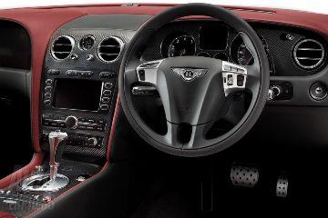 Interior, Supersports Bentley