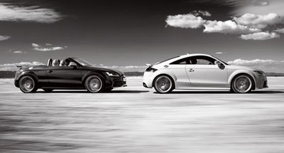 The TT RS Coupe and Roadster