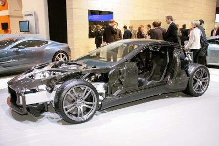 Aston Martin One-77 Internals
