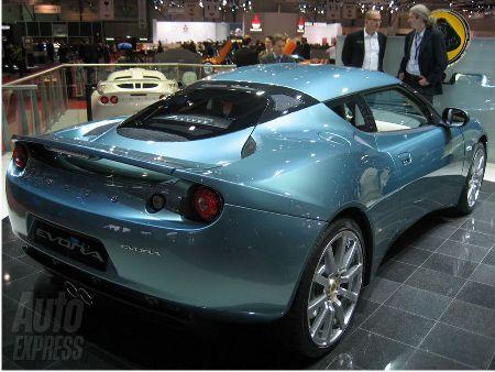 The new Lotus Evora