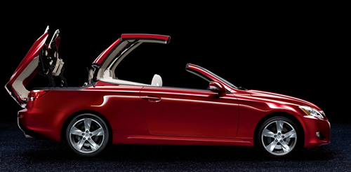 New Lexus IS250C Soft-top