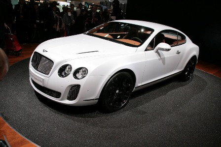 Bentley Supersports Biofuel