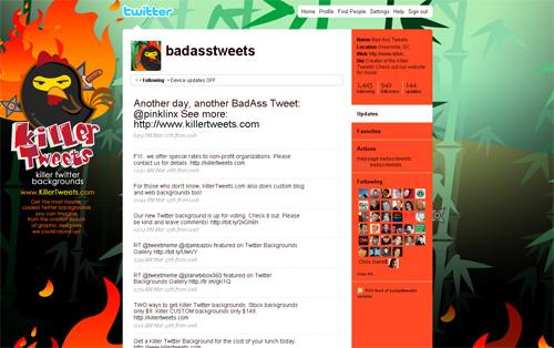Twitter BadAssTweets