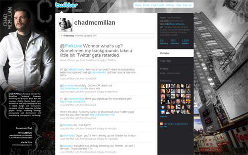 Twitter Chad McMillan