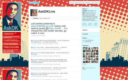 Twitter AskDKlive