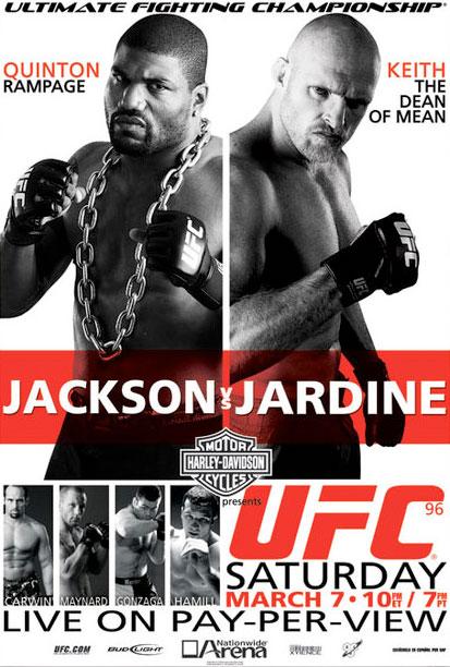 UFC 96 Preview