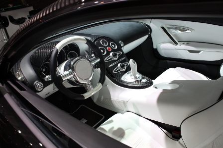 Bugatti Veyron Linea Vincero Interior