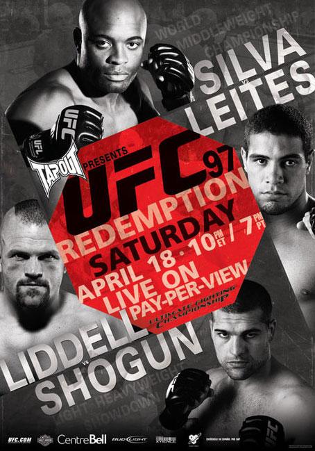 UFC 97 - Silva V Leites