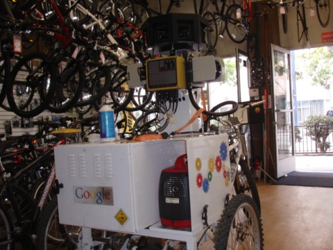 Google Streetview Tricycle