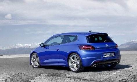 The new VW Scirocco R