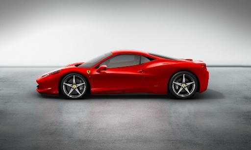 Ferrari F430 Replacement the 458 Italia