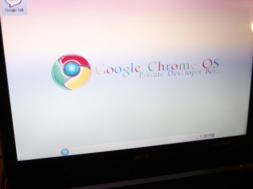 Google Chrome OS Screenshots