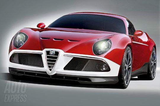 GTA version of the Alfa 8C