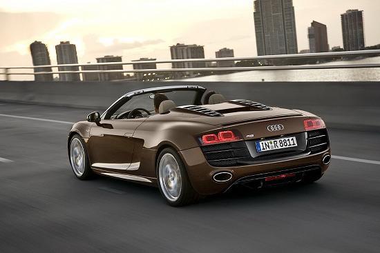 New Audi R8 Pics