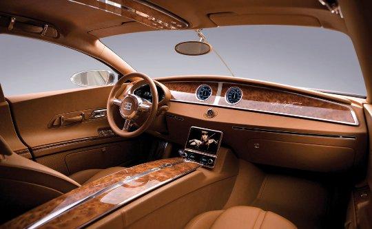 Bugatti Galibier Interior - Average Joes Blog