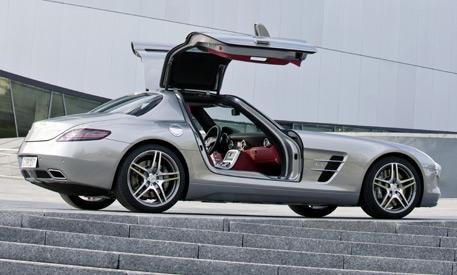 sls amg the new mercedes benz super car average joes
