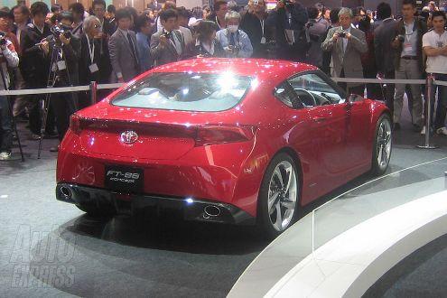 New Toyota FT-86 Sports Car