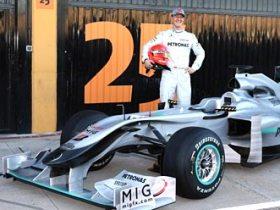 Mercedes unveil new F1 Car