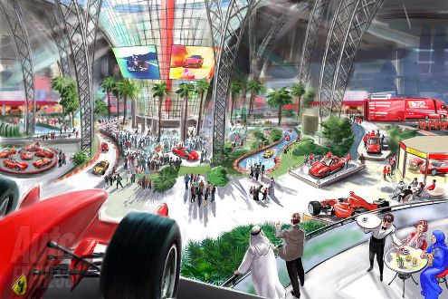 Inside Ferrari World