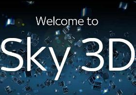 Sky 3D launching in October