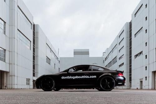 BMW's Secret Car
