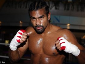 David Haye to fight Audley Harrison