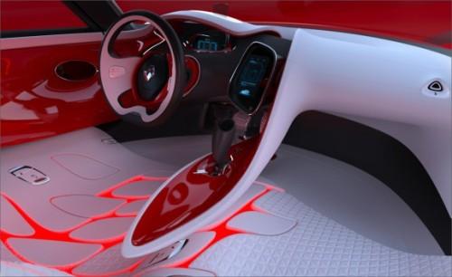 Renault Dezir Interior