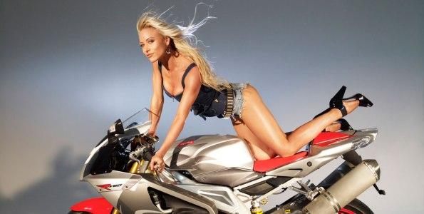 Stacey McMahon Bike Girl