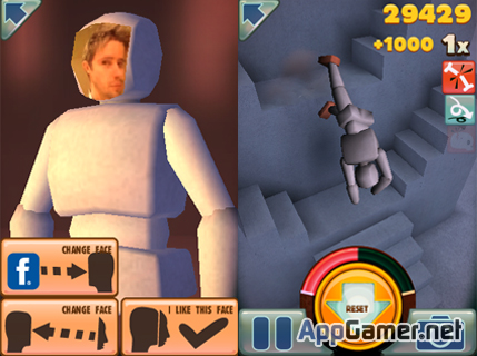 Stair Dismount iPhone App