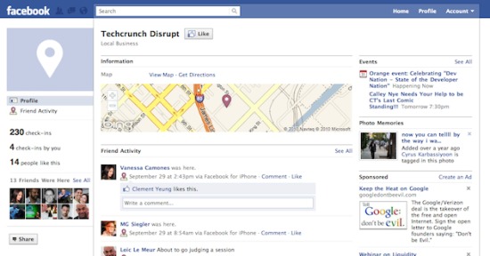 New Facebook Screenshot