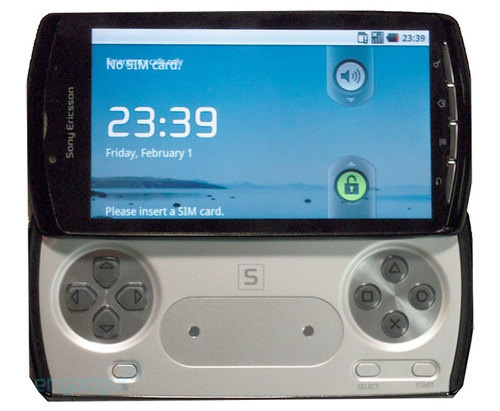 PlayStation Phone (inc video)