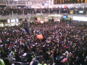 T-Mobile Flash Mob at Heathrow