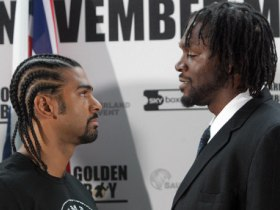 David Haye V Audley Harrison