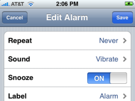 iPhone Alarm Woes
