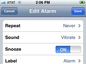 iPhone Alarm Woes