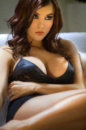 Kacey Barnfield in Black