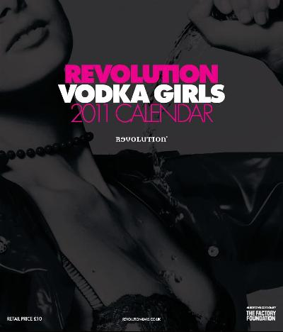 Revolutions Vodka Girls Calender