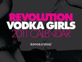 Win a Revolution Vodka Girls Calender