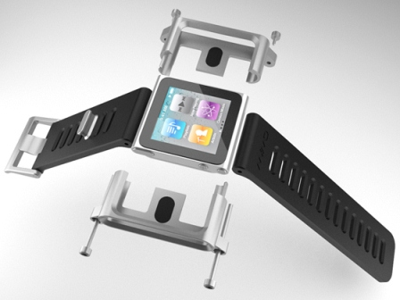 Tiktok and Lunatik iPod Nano Watch