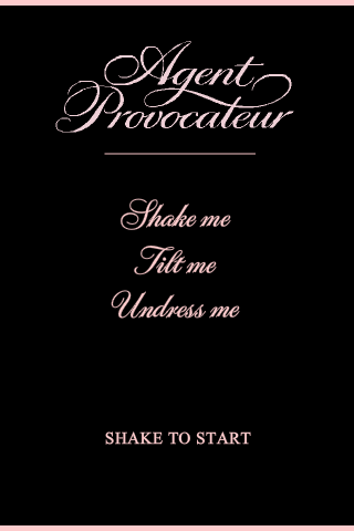Agent Provocateur iPhone App - Average Joes