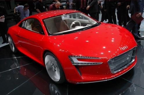 Audi Etron Concept Car