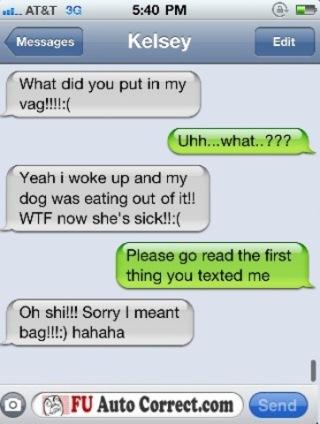 Funny Auto-correct Texts4