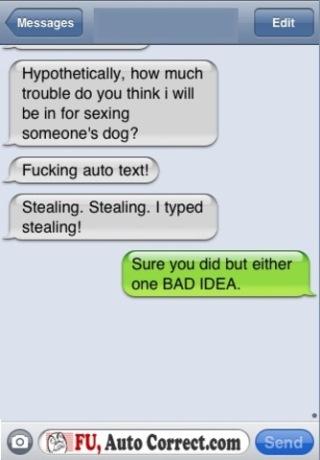 Auto-correct Texts