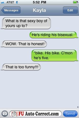 Funny Auto-correct Texts