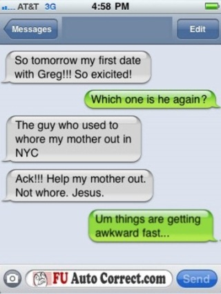 Funny Auto-correct Texts 1
